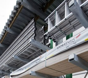 Heavy Duty Cantilever - Cantilever Roof and side and back cladding